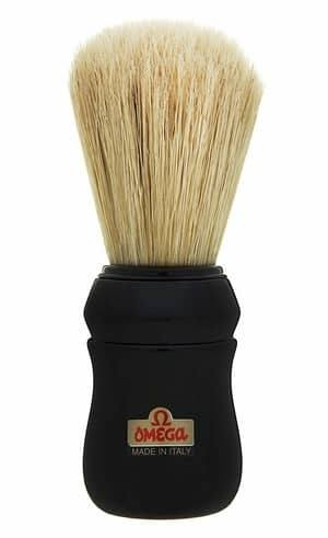 Black Omega 49 Professional Pure Bristle Shaving Brush review