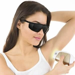protective glasses for IPL hair removal