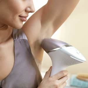 Philips Lumea Prestige under arms