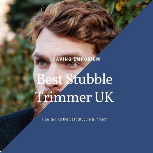 stubble trimmer