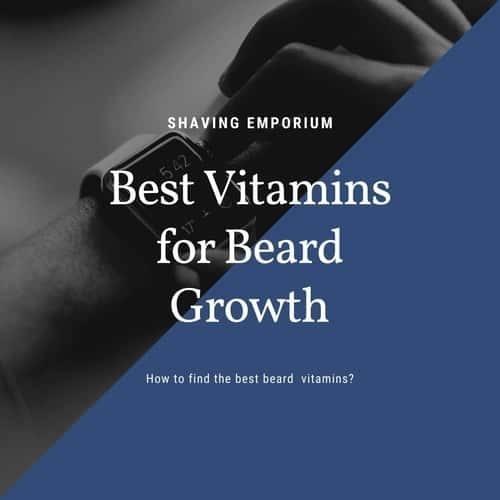 beard growing vitamins