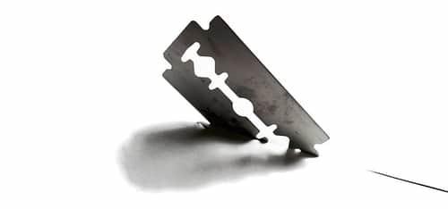 razor blades no cuts